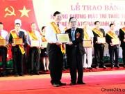 Thạc sĩ Nguyễn Dũng được tôn vinh là trí thức tiêu biểu Việt Nam