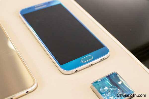 Đập hộ Samsung Galaxy S6 Edge phiên bản Emerald GreenĐập hộ Samsung Galaxy S6 Edge phiên bản Emerald Green