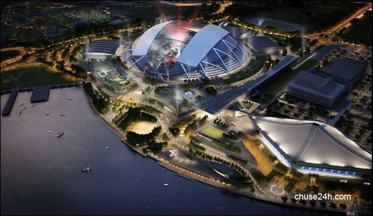 Thể thao Singapore chuẩn bị SEA Games 28
