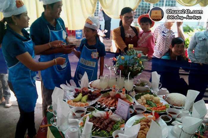 Chư Sê tổ chức hội thi nấu cơm
