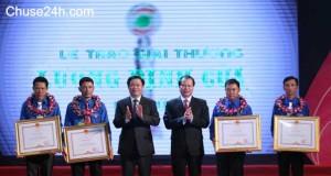 3 thanh niên nông thôn được nhận giải thưởng Lương Định Của