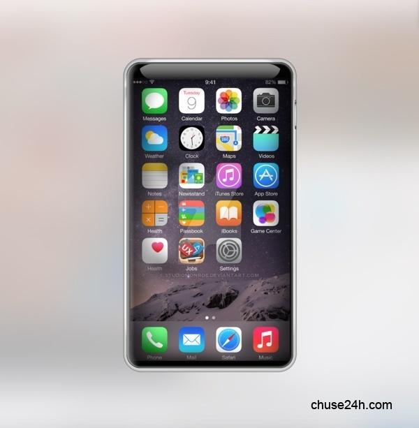 iPhone 7 thiết kế mới lạ không còn nút Home