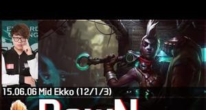 Màn trình diễn Ekko trong tay Faker Slayer