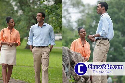 Hé lộ cảnh hẹn hò trong phim về chuyện tình của Obama