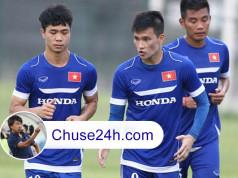 HLV Miura chốt danh sách trận gặp Man City: Công Phượng đá cặp Công Vinh