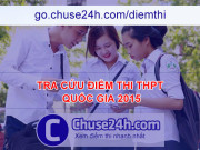 TRA CỨU ĐIỂM THI THPT QUỐC GIA 2015