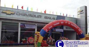 GM mở đại lý Chevrolet Gia Lai