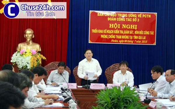 Gia Lai xử lý 30 vụ án tham nhũng trong 2 năm