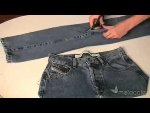 Kinh ngạc với màn sáng tạo tuyệt vời từ quần jean cũ