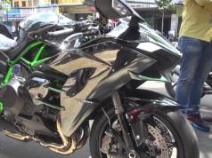 Chi tiết Kawasaki Ninja H2 tại Việt Nam