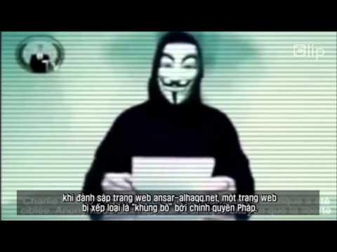 """Nhóm hacker nguy hiểm nhất thế giới """"tuyên chiến"""" IS và Al Qaeda"""