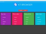 KT Browser của Nguyễn Anh Khoa đã trải qua 5 phiên bản và đang được hoàn thiện, sửa lỗi từng ngày.