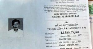 Dùng bằng giả, Phó bí thư xã Bar Maih, huyện Chư Sê bị cách hết chức vụ Đảng