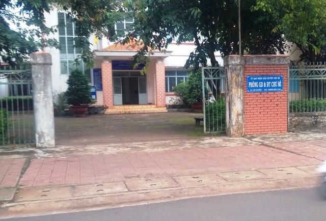 Nguyên Trưởng phòng GD-ĐT huyện Chư Sê làm thất thoát hơn 300 triệu đồng
