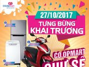 Co.opmart Chư Sê giảm giá mạnh, tặng Honda Lead dịp khai trương