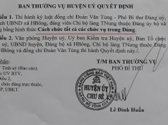 Chủ tịch UBND xã H'Bông bị cách chức vì giả giấy tờ bán đất công