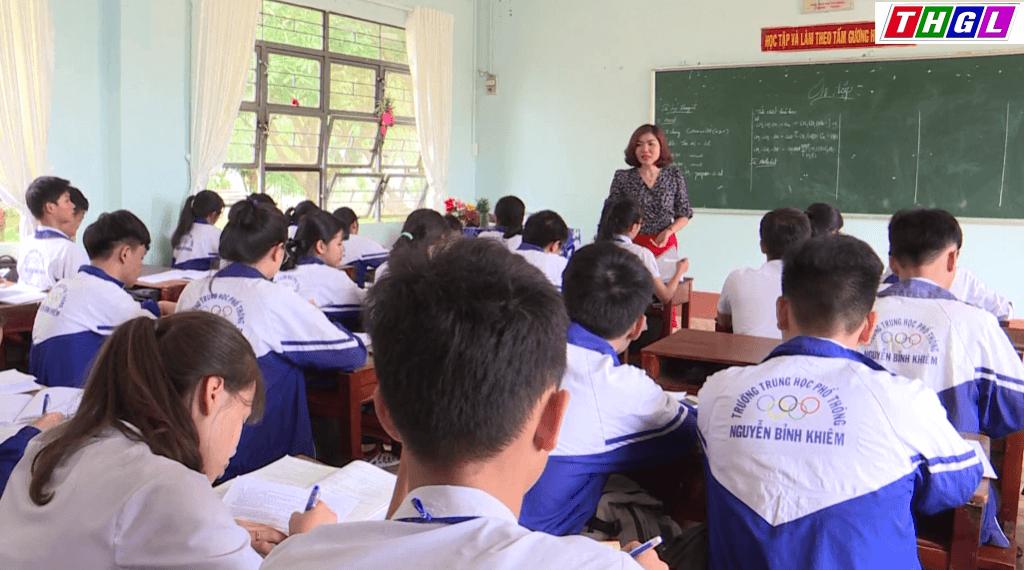 Tăng cường công tác ôn thi tốt nghiệp THPT Quốc gia 2018