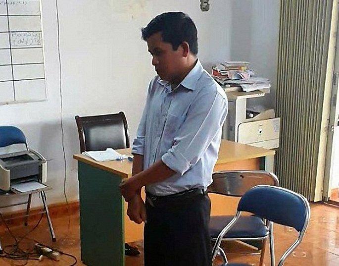 Cán bộ Phòng Tài nguyên - Môi trường Gia Lai lĩnh án 5 năm tù vì Lừa nhận tiền làm bìa đỏ